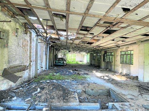 Pic 41 Another Warehouse Where Brueckner Kept Many Vehicles