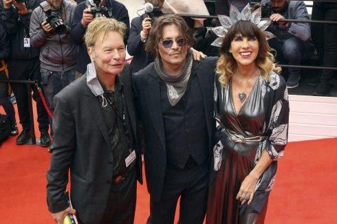 Julien Temple, Johnny Depp Und Victoria Mary Clarke Bei Der Premiere Von Crock Of Gold: A Few Rounds With Shane Macgowa