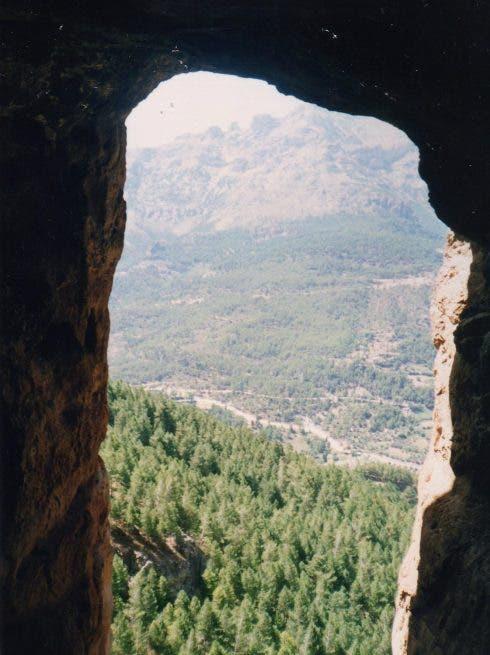 Interior Cueva Sanguijones