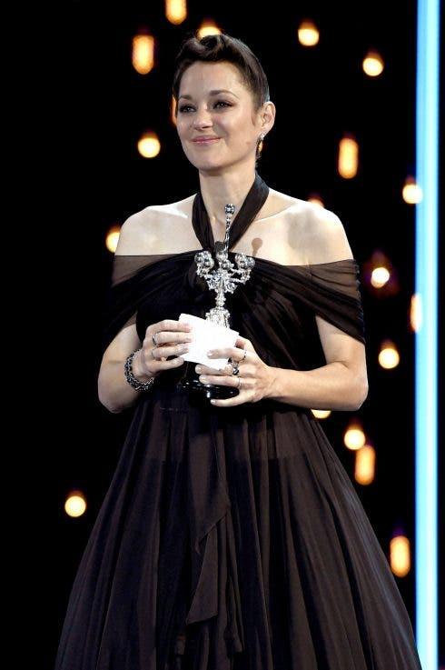 Marion Cotillard Bei Der Verleihung Des Donostia Awards Für Ihr Lebenswerk Auf Dem 69. Internationalen Filmfestival San