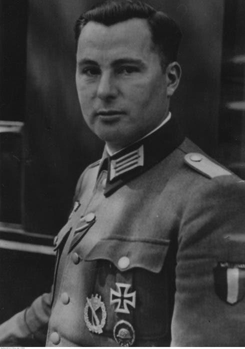 Léon Degrelle Portrait