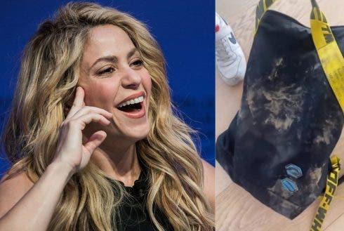 Shakira And Bag Wikicommons And @shakira Instagram